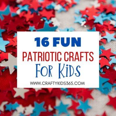 Easy Patriotic Crafts kids feature 1