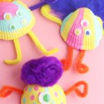 Shell Monsters Seashell Craft