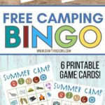 School's out for summer. Looking for a fun kids' activity? This Free Printable Summer Camp Bingo is a fun summer activity the kids will love to play. Download and these free Bingo cards. Play summer camp bingo while sitting around the campfire eating s'mores.