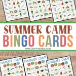 School's out for summer. Looking for a fun kids' activity? This free Printable Summer Camp Bingo is a fun summer activity the kids will love to play.