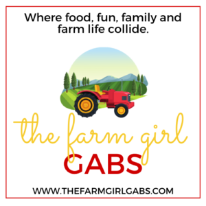 The Farm Girl Gabs logo www.thefarmgirlgabs.com