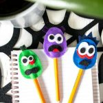 Felt Eraser Pencil Topper fo Halloween