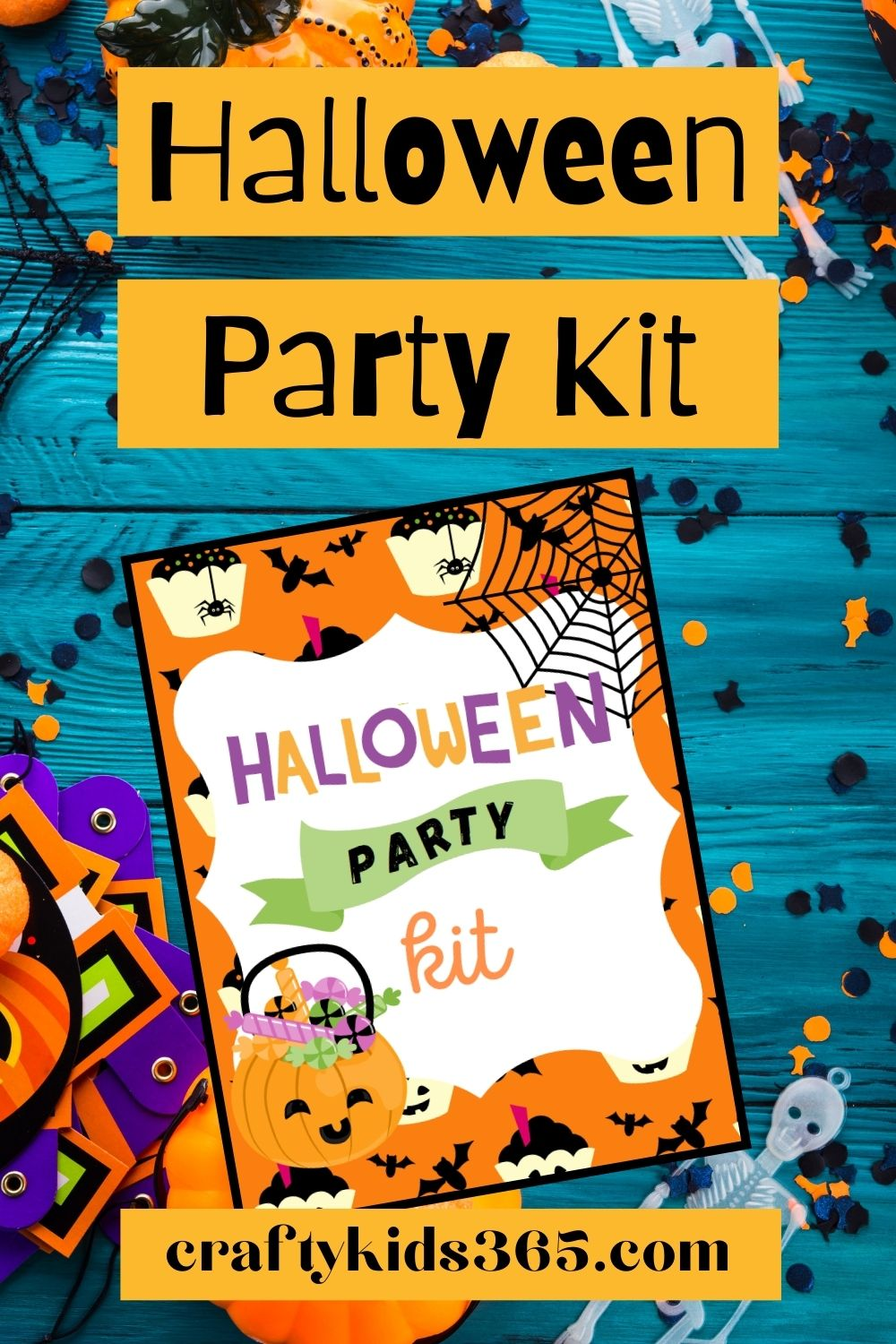 Be the perfect ghost host. Download this free Halloween Party Planning Kit. Tips and tricks on How to plan a hauntingly fun Halloween Party for Kids.