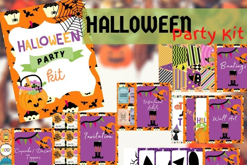 Be the perfect ghost host this Halloween. Download this free Halloween Party Planning Kit. Tips and tricks on How to plan a hauntingly fun Halloween Party for Kids. From Halloween Invitations to Halloween food ideas, this planning kit will help you plan the ultimate Halloween party for friends.